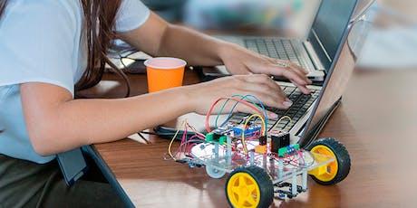 Oficina de robótica - de 7 a 15 anos ingressos