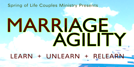 Spring of Life Presents - Marriage Agility  tickets