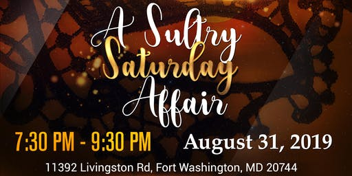 Chocolate Noir Presents A Sultry Saturday
