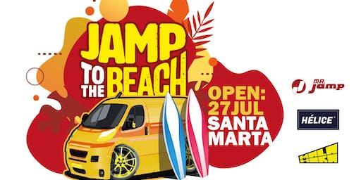 Jamp to the beach