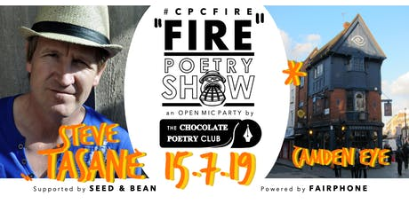 POETRY - #CPCFIRE CAMDEN Open Mic Party // Every 3rd Monday tickets