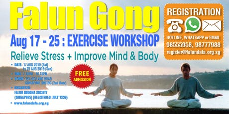 Falun Gong Exercise Workshop tickets