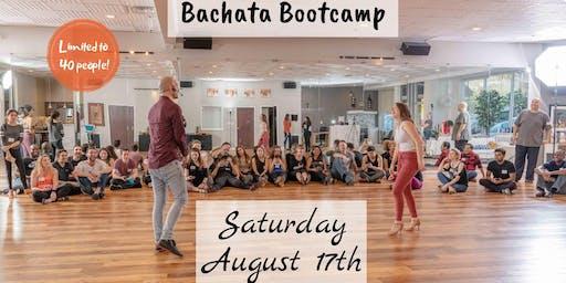 AUGUST BACHATA BOOTCAMP - Beginner Levels II & III