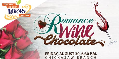 Romance, Wine and Chocolate tickets