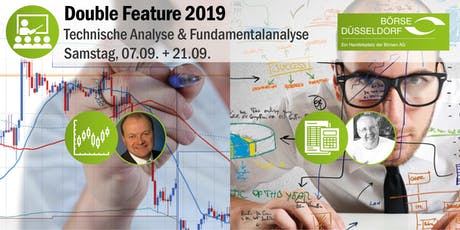 Double Feature - 2 Tagesseminare: Technische Analyse & Fundamentalanalyse Tickets