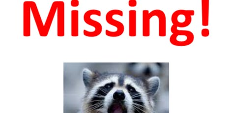 New!! Central Park Mystery Scavenger Hunt: The Case of The Missing Raccoon tickets
