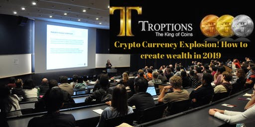 Crypto Currency Explosion! How to create wealth in 2019, Pensacola, FL