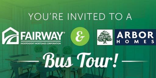 Fairway Independent Mortgage and Arbor Homes REALTOR Bus Tour
