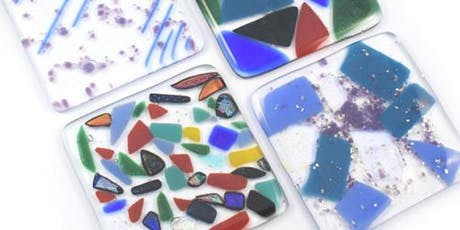 Glass Fused Wall Hanging / Coasters Workshop tickets