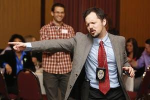 """The Dinner Detective Murder Mystery Dinner Show"" -- Colorado Springs"