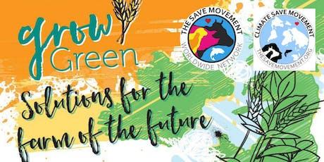 The Vegan Society 'Grow Green Campaign' talk tickets