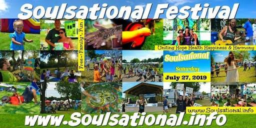 Kids Art Class at Soulsational Festival