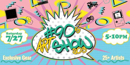 #The90sArtShow203