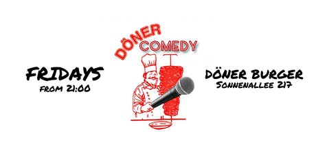 Döner Comedy English Open Mic tickets