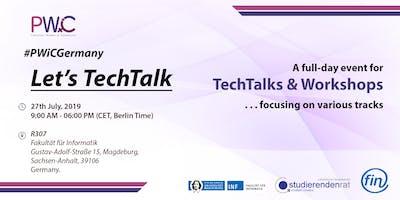 PWiC Germany: Let's TechTalk