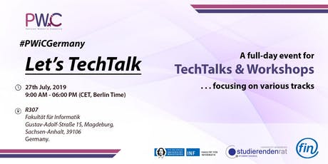 PWiC Germany: Let's TechTalk Tickets