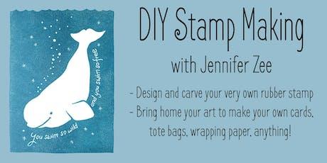 DIY Stamp Making Workshop for Women with SF Artist Jennifer Zee tickets