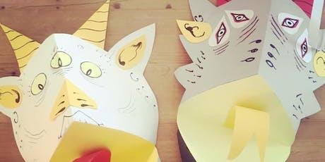 Mini Makers - Kids craft workshop – Monster masks tickets