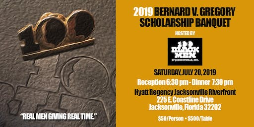 100 Black Men of Jacksonville Bernard V. Gregory Scholarship Banquet