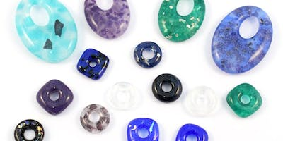 Fused Glass Beads and Pendants