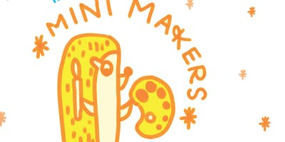 Mini Makers: Free Guided Art Lesson for Little Artists (5 and under)