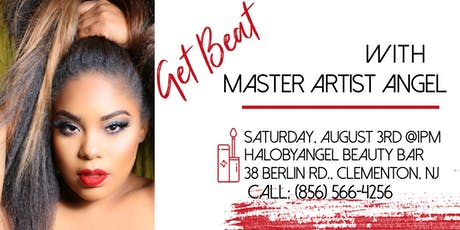 """HALO BY ANGEL """"LIVE"""" Makeup Tutorial tickets"""