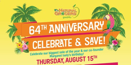 Natural Grocers Anniversary Hawaiian Luau tickets