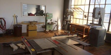 Tool Training: Wood Shop Series I tickets