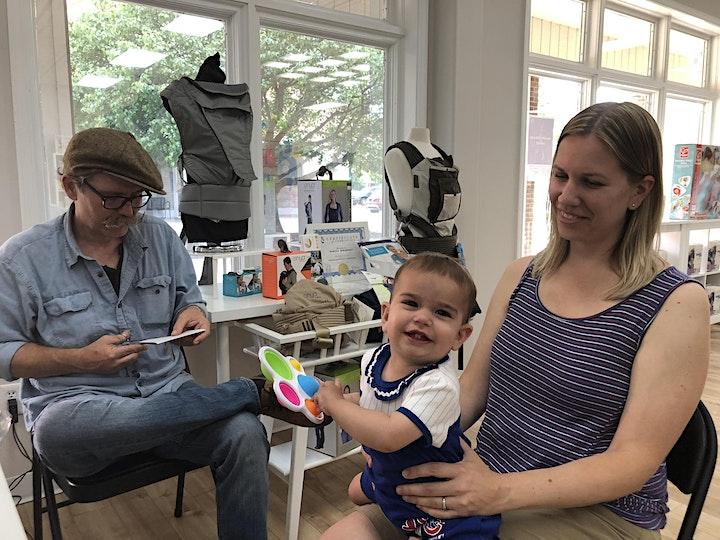 Annie & Oliver's (Midland, MI) Hosts Silhouette Artist Chris Casey image