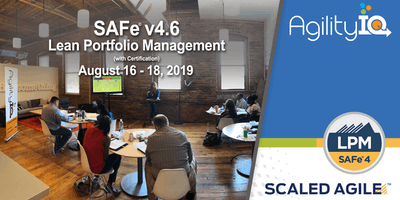 SAFe® 4.6 Lean Portfolio Management with Certification