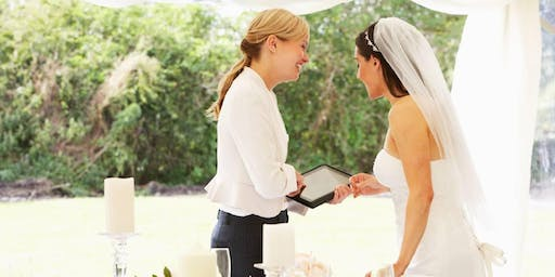 Certificate in Wedding Planning, 5-Day Course in London, November