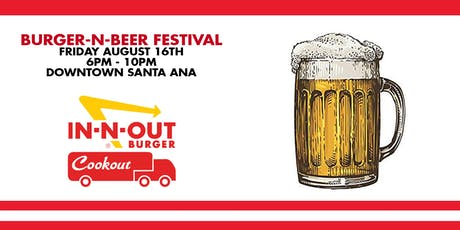 Burger n Beer Festival tickets