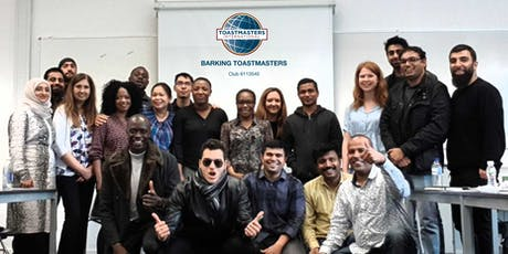 Barking Toastmasters - Develop your Public Speaking  skills tickets