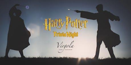 Trivia Night at Virgola: Harry Potter tickets