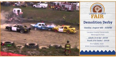 Laramie County Fair Demolition Derby tickets