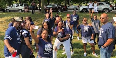 Hyde Park's 2019 Annual Alumni Picnic Class of 95 Tent