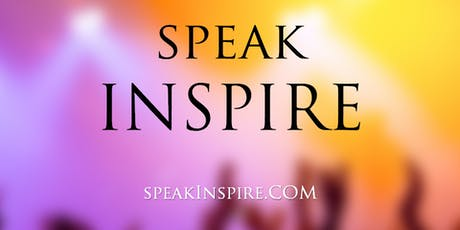 Speak Inspire TV Cooperative Kickstarter Tickets, Sat, 13 Jul 2019