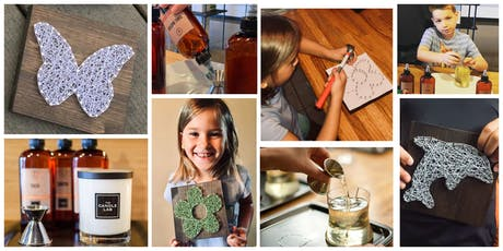 Kids Candle & String Art Workshop! tickets