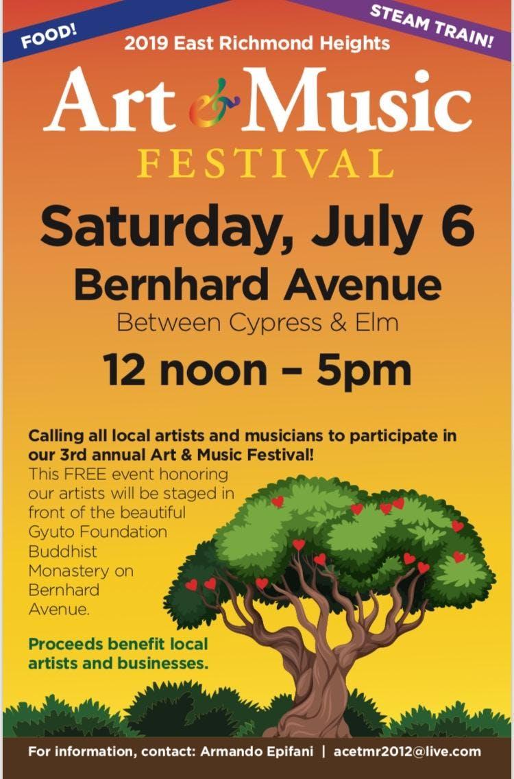 East Richmond Heights Arts & Music Festival