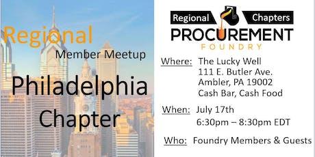 Greater Philadelphia Member Meetup - July 2019 tickets