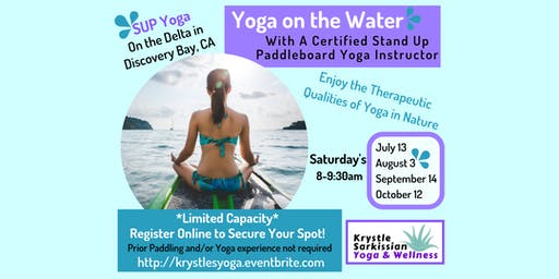 9/14 Yoga on the Water - Stand Up Paddle Board (SUP) Yoga on the Delta!