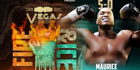 Maurice Jones Live Pro Boxing Event 7/20/19 by Vegas Grand Boxing Promotions tickets