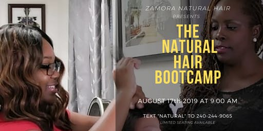 Natural Hair Styling BootCamp!