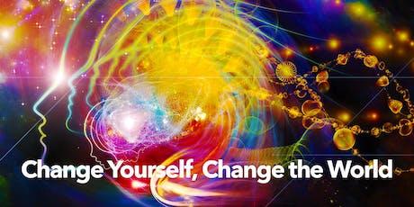 CHANGE YOURSELF, CHANGE THE WORLD — weekend workshop: 8/10-11  tickets