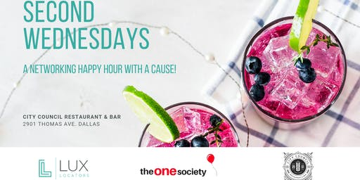 Second Wednesdays @ City Council - The One Society & Lux Locators