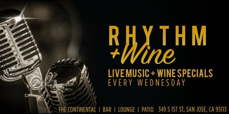 Rhythm & Wine Wednesdays: Live Music + Wine Specials (July) tickets