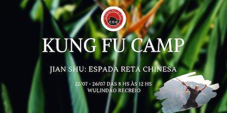 KUNG FU CAMP JIAN SHU ingressos