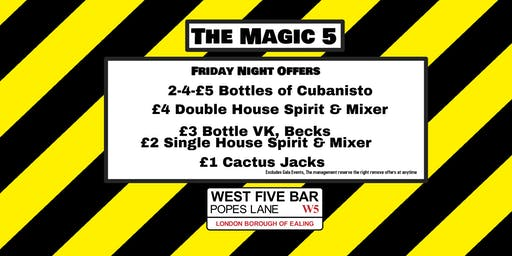 The Magic 5 with DJ Robby D