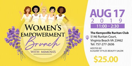 Women's Empowerment Brunch with Mimosas  tickets