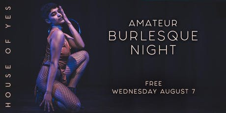 Amateur Burlesque Night tickets